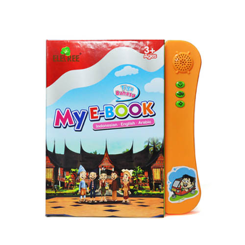 ELETREE E-book/Sound book ELB-09 Indonesia  English sound book touch book