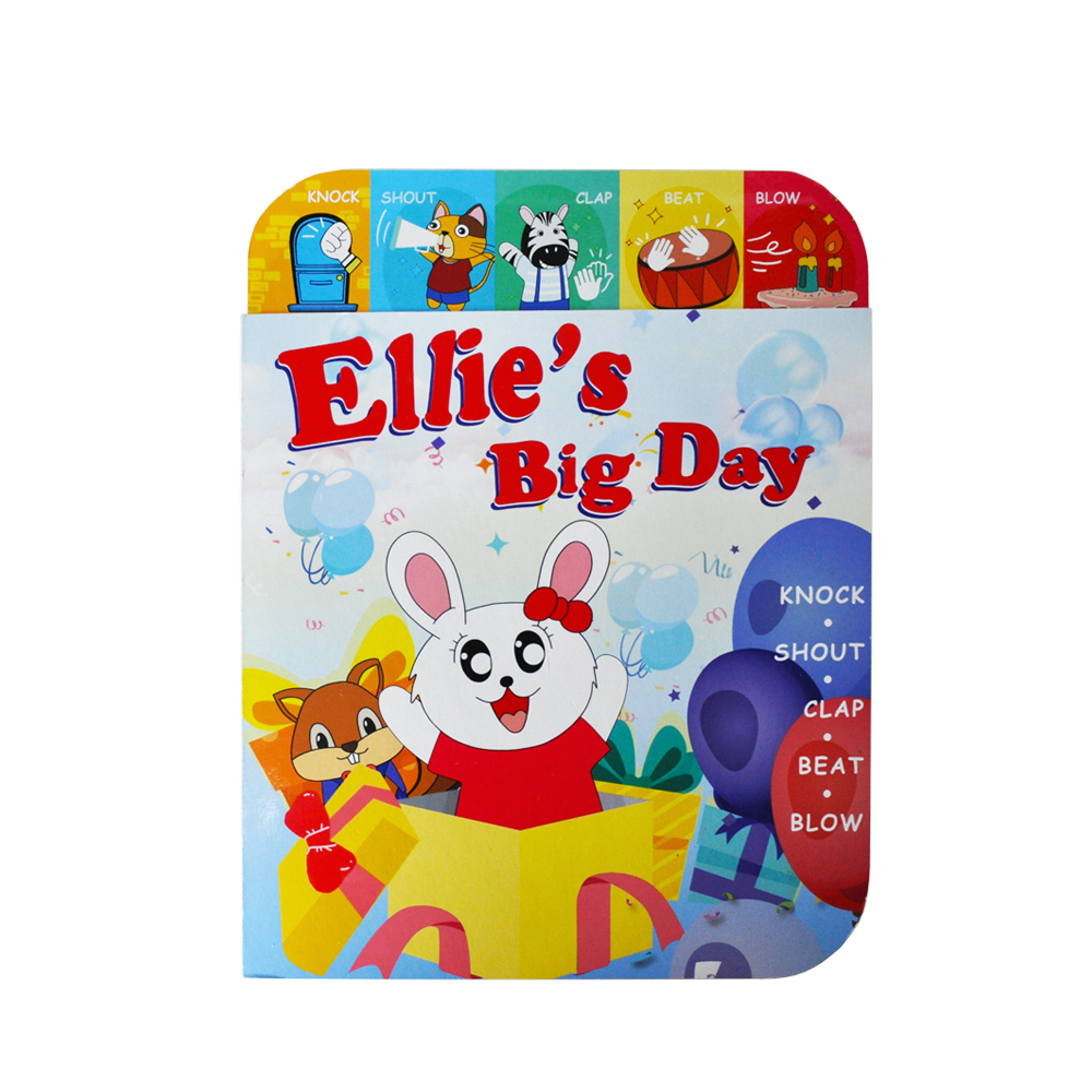ELB-18K-ELETREE baby toys educational Ellie's big day magic birthday interactive book for kids