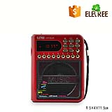 AM FM portable radio Eletree radio H111SUR with aux input support memory card