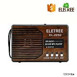 Eletree outdoor radio XB-225U fm radio with mp3 good price music radio support usb/sd card