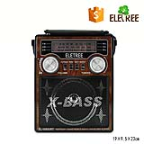 HOT SELL Portable retro Radio AM/FM/SW AC usb radio with color light XB-1053URT