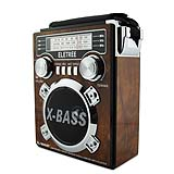 HOT SELL Portable retro Radio AM/FM/SW AC usb radio with color light XB-1054URT