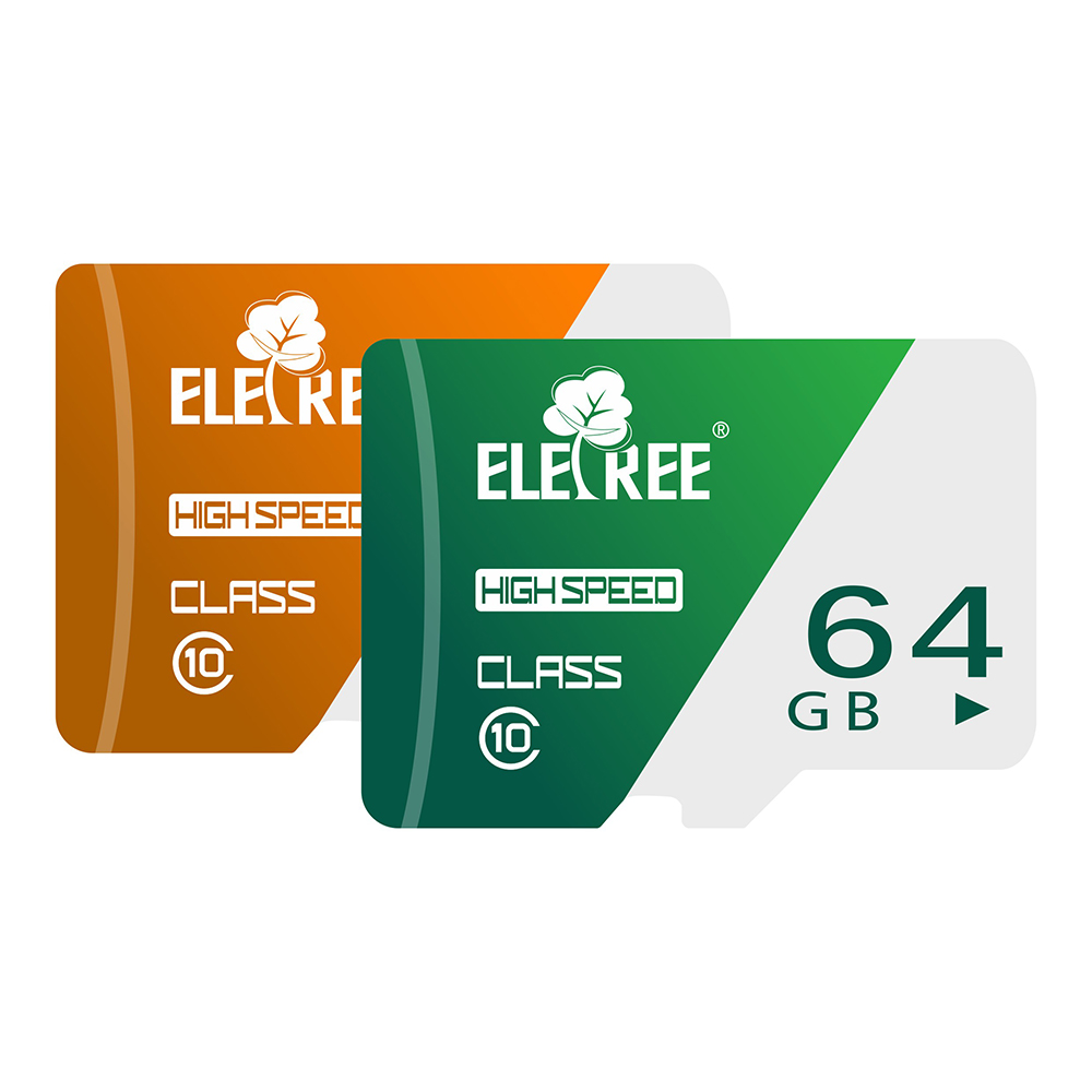 ELETREE taiwan wholesale MOQ100 stock bulk sd cards micro mobile phones microsd 64gb 64G CARD micro tf memory sd card adapter