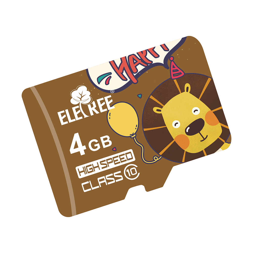 Cartoon lionHot sale in Dubai Cheap price MP4 MP3 storaged used OEM memory sd card wholesale memory card 4gb
