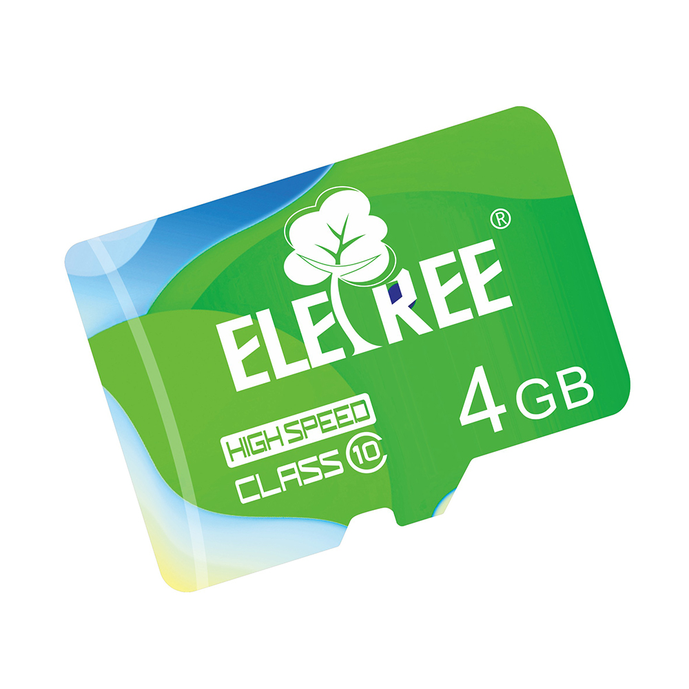 Full capacity Class 4/ 6 4GB TF SD memory card low price with adapter