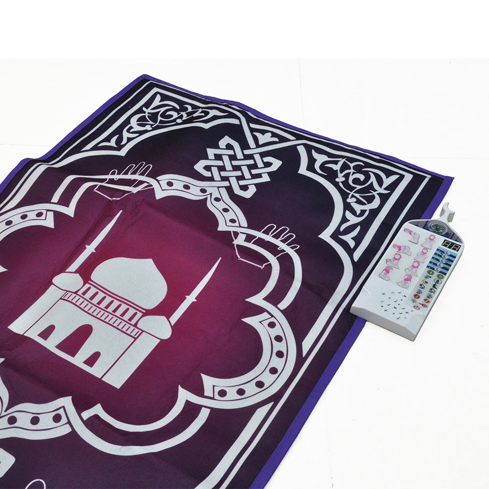 Unique islamic gifts muslim prayer rugs with compass,children islamic prayer carpet,padded prayer mat for sale