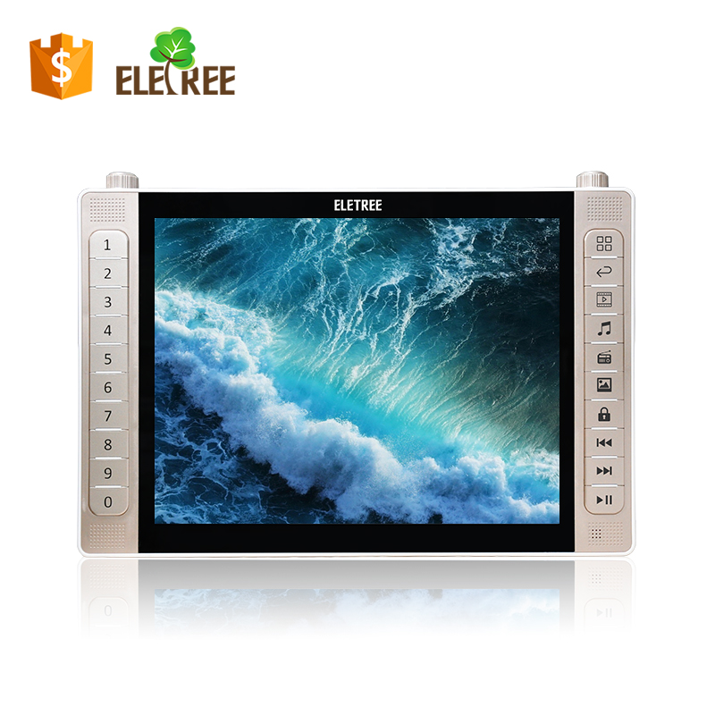 EL-988-New model arrived 14.1inch portable mp4 player with tv/av in/e-book/video