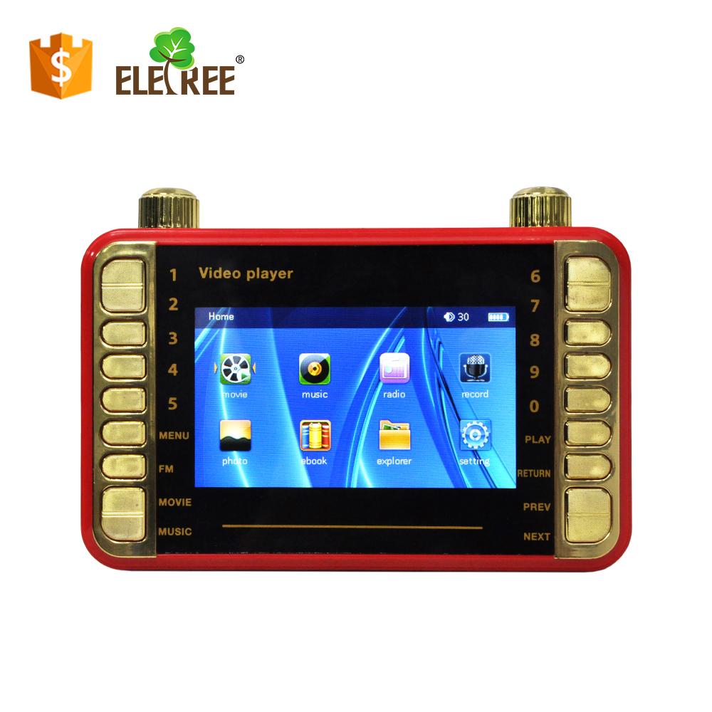 XY-518-high quality hot selling wholesale cheap mp4 players for sale mp4 video player kid with usb tf card slot