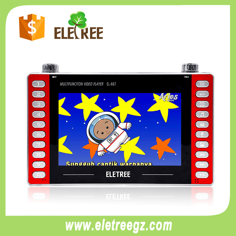 EL-667-Muslim abia hot sell islamic electronic product learning kids mp4