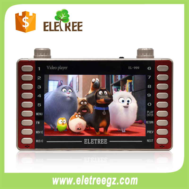 EL-999-Malaysia kids toys dv mp4 mp5 player with memory card sd
