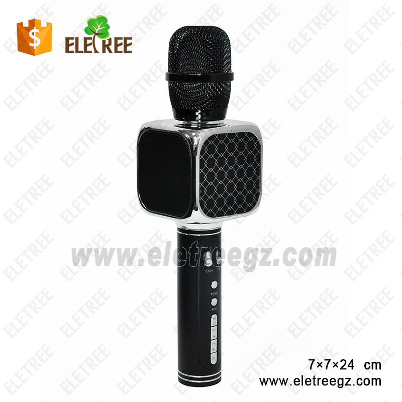 YS-69-Echo Wireless Portable Handheld karaoke microphone compatible with Android & IOS system