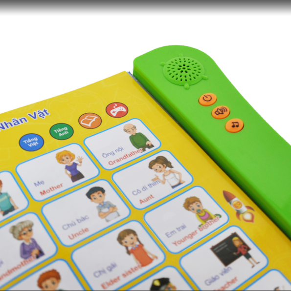 ELB-22 Vietnamese  English  two languages for kids