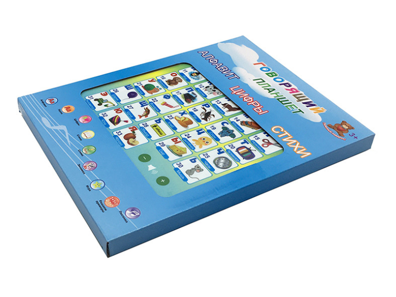 QT0937 Electronics kids My first Russian educational pad