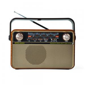 Portable vintage emergency broadcasting equipment usb sd card reader speaker other transmitter 3 way am fm sw radio 505