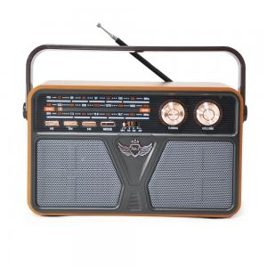 Portable vintage emergency broadcasting equipment usb sd card reader speaker other transmitter 3 way am fm sw radio 507