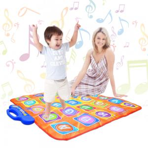 Dancing Challenge family kids electronic touch sensitive musical carpet tv game dance pad mats wireless consumer electronics